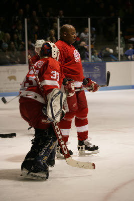 Red Wings Veteran charity hockey game