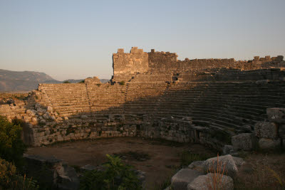 Stadium in Lycian city of Xanthos