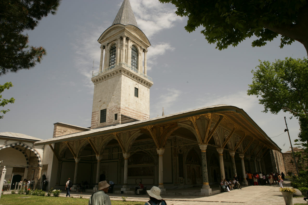 Topkapi palace image gallery for Divan turkey